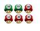 Mario Clock Labels