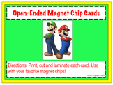 Mario and Luigi Magnet Chip Boards