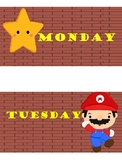 Mario days of the week