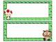 Mario themed desk nameplates