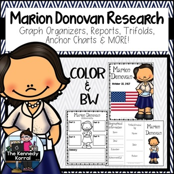 Marion Donovan: Biography Research Bundle {Report, Trifold