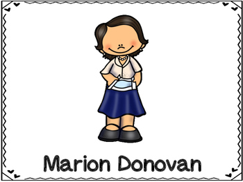 Marion Donovan  Inventor (Disposable Diaper)