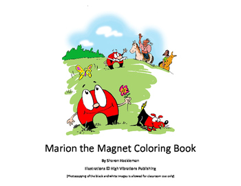 Marion the Magnet Coloring Book