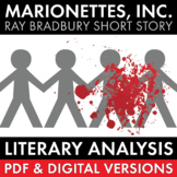 """Marionettes, Inc."" Literary Analysis Worksheet for Ray Bradbury's Short Story"