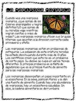 Mariposa Monarca Investigation