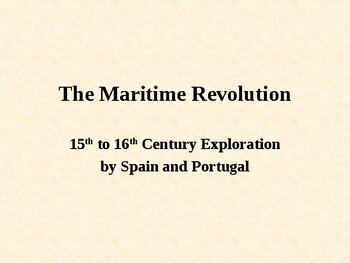 Maritime Revolution of the Spanish and Portuguese navigators