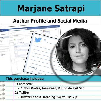 Marjane Satrapi - Author Study - Profile and Social Media