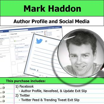 Mark Haddon - Author Study - Profile and Social Media