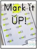Mark It Up - Explicit Decoding Phonics Pack
