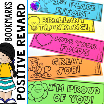Reward Bookmarks - Positive Reinforcement