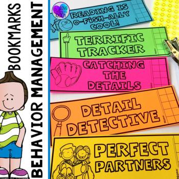 Behavior Chart Bookmarks for Independent Reading