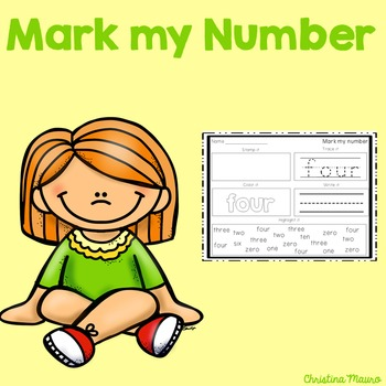 Mark My Number {0-20}