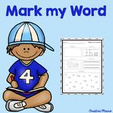 Mark My Word: Word Work