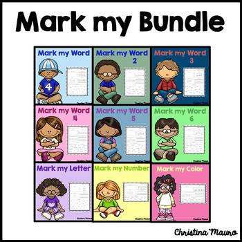 Mark My Word: Word Work {The Complete Set}