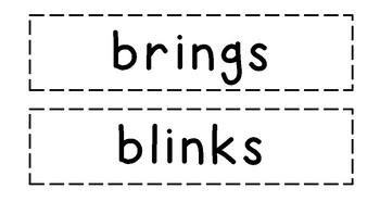 Marking Words with Blends and Suffix -s