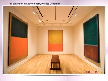 Mark Rothko Art SHOW + TEST = 223 Slides Abstract Color Field Painting