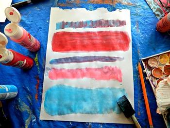 """Mark Rothko Kids Art Lesson """"No.7"""" K-6 Kids Art Lesson"""