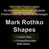 Mark Rothko Shapes