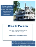 Mark Twain ACT English Practice Questions
