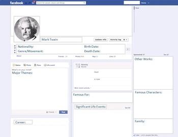 Mark Twain - Author Study - Profile and Social Media
