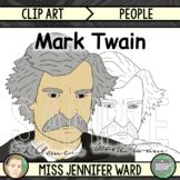 Mark Twain Clip Art