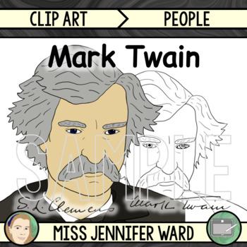 Mark Twain Clipart