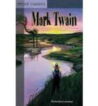 Mark Twain Retold Classics—7 selections retold at a lower reading level