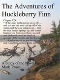 Mark Twain Studies: Huck Finn AP Writing, 4 Pages, Can Be