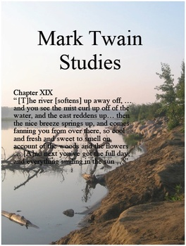 Mark Twain Studies: Life on the Mississippi Video Quiz