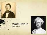 "Mark Twain's Life and Intro to ""The Celebrated Jumping Frog of Calaveras County"""