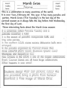 Mark Your Calendar: Mardi Gras