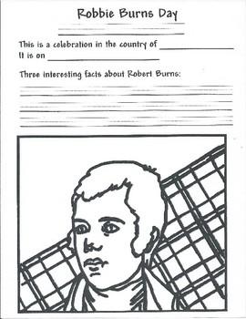 Mark Your Calendar: Robbie Burns Day