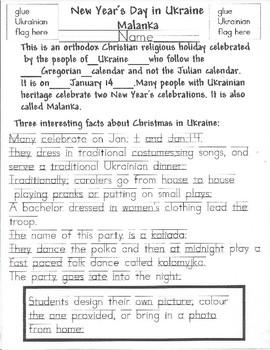 Mark Your Calendar: Ukrainian New Years