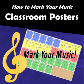Mark Your Music Posters