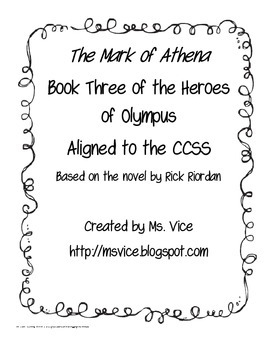 Mark of Athena Chronological Order Sort