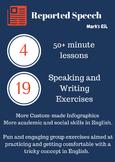 Mark's ESL - Reported Speech Lesson Pack