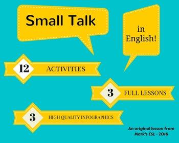 Mark's ESL - Small Talk Lesson Pack