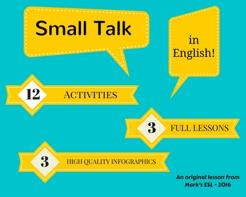 Mark's ESL - Small Talk Lesson Pack