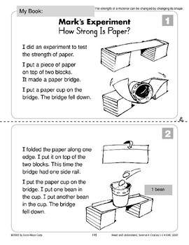 Mark's Experiment: How Strong Is Paper? (Physical Science/Experiments
