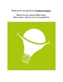 Markbook Template - Google Sheets