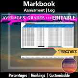 Markbook and Assessment Log