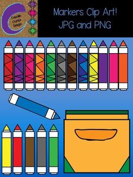 Marker Markers Clip Art Color Images