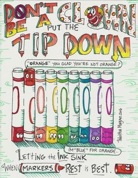 Marker Tip Down