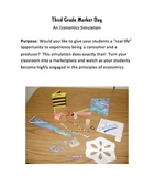 """Market Day - A """"Real World"""" Economics Simulation For Grades 3-6"""