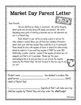 Market Day: Culminating Economics for Big Kids