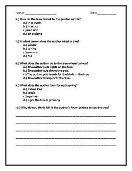 Market Day Quiz for Kids
