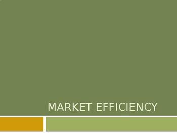 Market Failure Lesson 1 - Market Efficiency