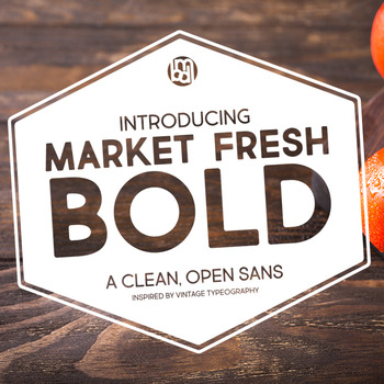 Market Fresh Bold Font for Commercial Use