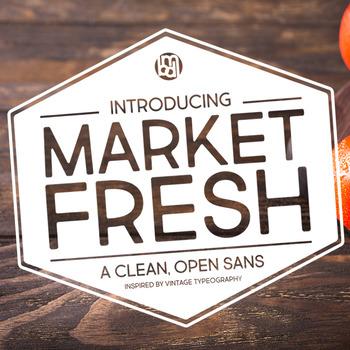 Market Fresh Font for Commercial Use