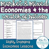 Market & Mixed Economies & the Wealth of Nations Econ Lesson (Distance Learning)
